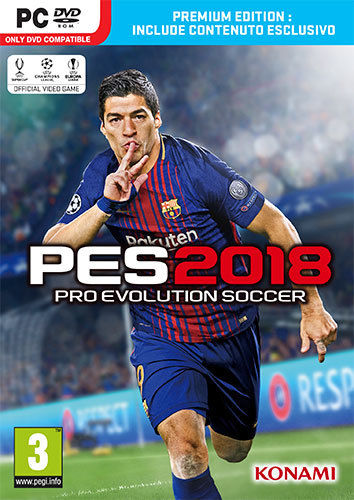 Pro Evolution Soccer 2018 PES 18 Premium Edition PC