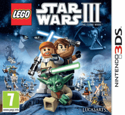 Lego Star Wars III 3 The Clone Wars 3DS