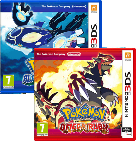 Pokemon Alpha Sapphire & Omega Ruby 3DS