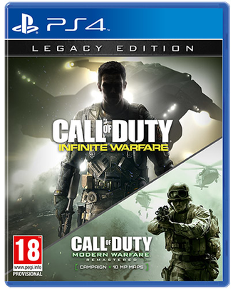Call of Duty COD Infinite Warfare Legacy Edition PS4