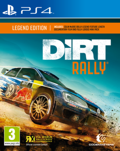 Dirt Rally Legend Edition PS4