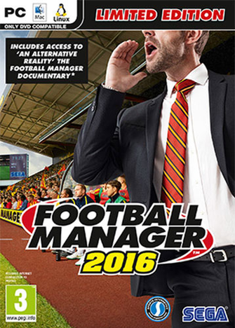 Football Manager 2016 Standard Edition PC
