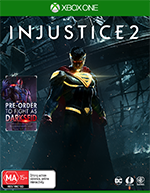 Injustice 2 Includes DARKSEID DLC Xbox One