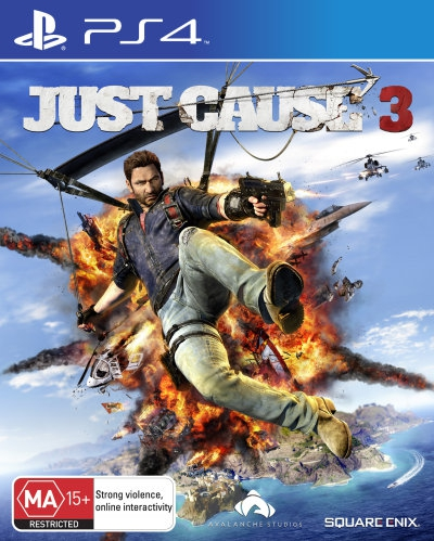 Just Cause 3 Includes Weaponized Vehicle Pack PS4