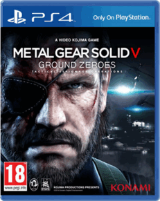 Metal Gear Solid 5 V Ground Zeroes PS4