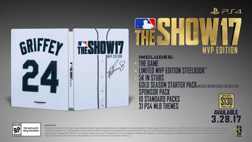 MLB The Show 17 MVP Edition PS4