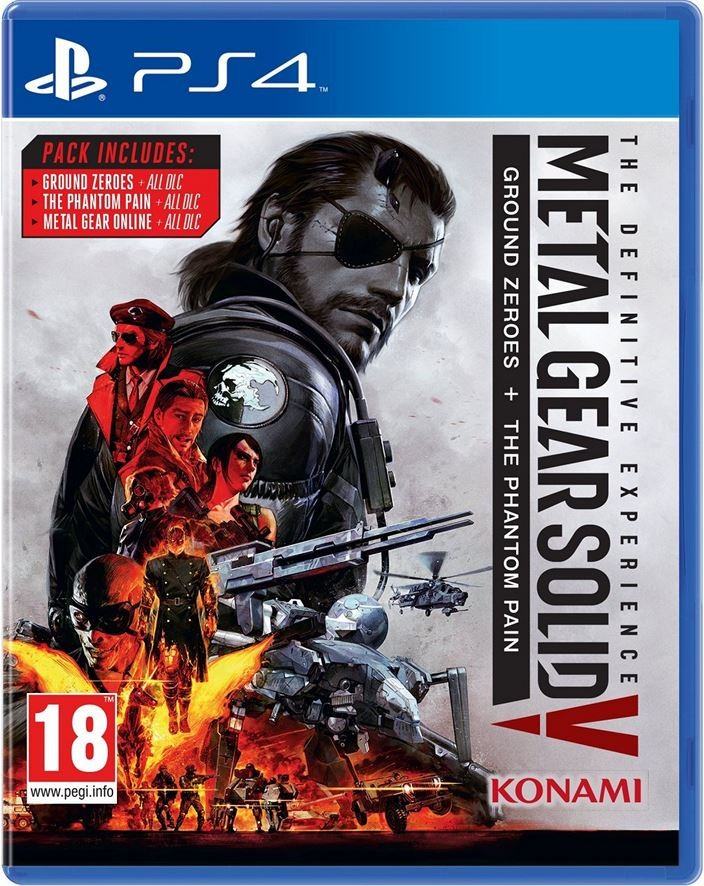 Metal Gear Solid 5 V The Phantom Pain  Definitive Experience PS4