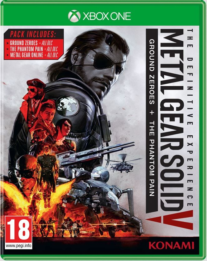 Metal Gear Solid 5 V The Phantom Pain  Definitive Experience Xbox One