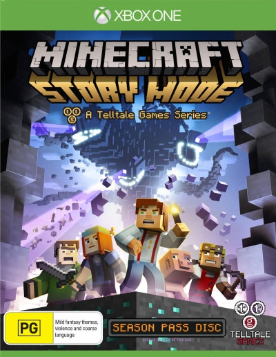 Minecraft Story Mode Season Disc Xbox One