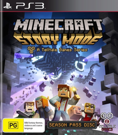 Minecraft Story Mode Season Disc PS3