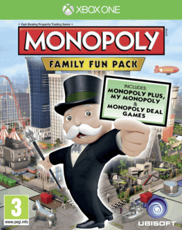 Hasbro Monopoly Family Pack Xbox One