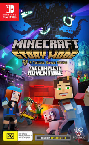 Minecraft Story Mode The Complete Adventure Switch