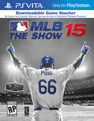 MLB 15 The Show PSV Download Code