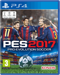 Pro Evolution Soccer 2017 PES 17 PS4