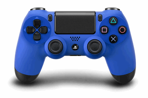 PS4 DualShock 4 Wave Blue Wireless Controller