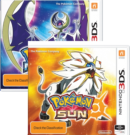 Pokemon Moon & Sun Bundle 3DS