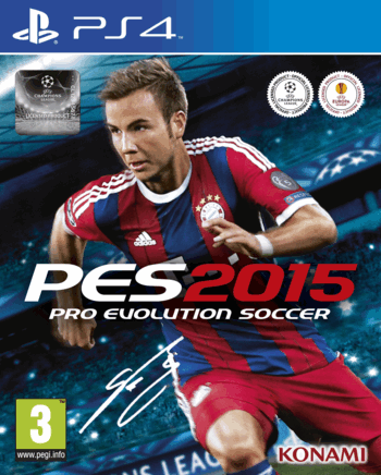 Pro Evolution Soccer PES 2015 PS4