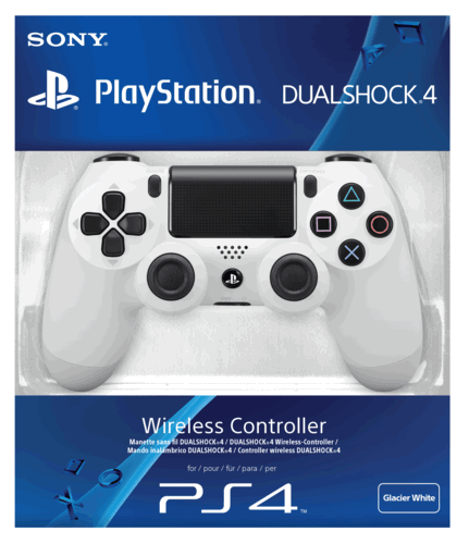 PS4 DualShock 4 Glacier White Wireless Controller