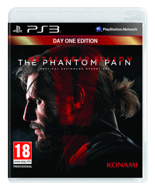 Metal Gear Solid V: The Phantom Pain Day 1 Edition PS3