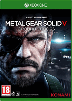 Metal Gear Solid 5 V Ground Zeroes Xbox One