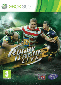 NRL Rugby League Live 2 Xbox 360