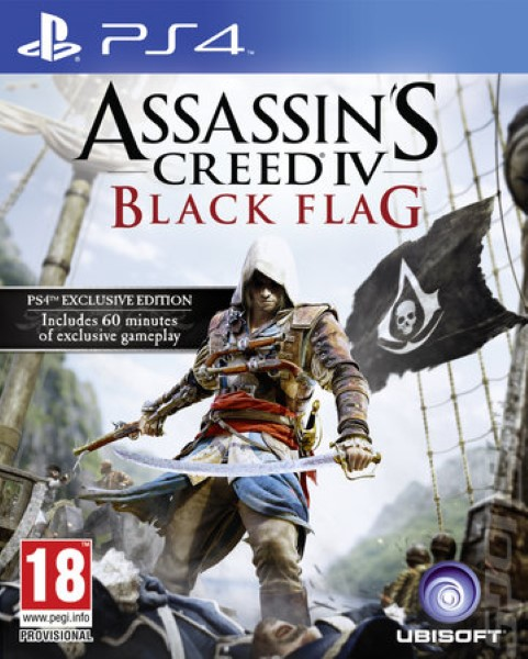 Assassins Creed 4 IV Black Flag PS4