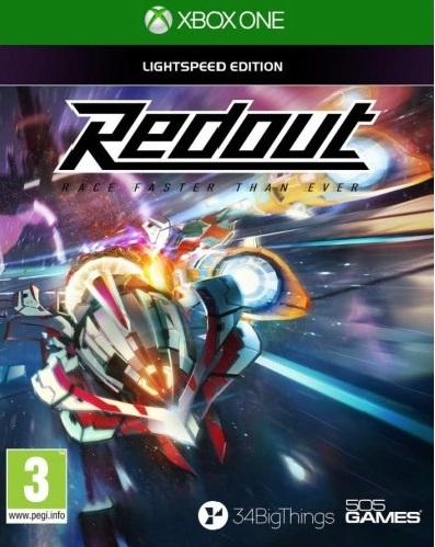 Redout Lightspeed Edition Game Xbox One